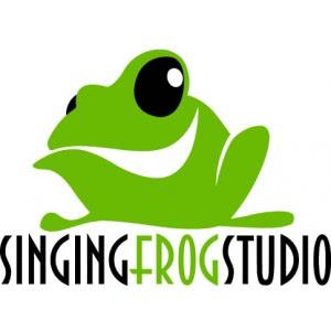 Studio Singing Frog